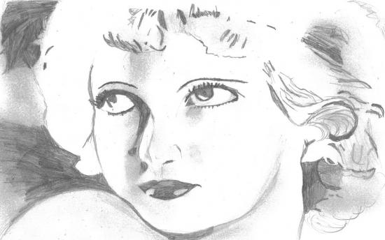 Bette Davis by Leena